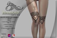 Waldorf Design. Half Mandala Tattoo