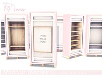 ionic : Modular Display - Pastel Pink