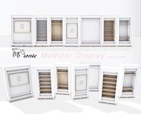 ionic Modular Display - White