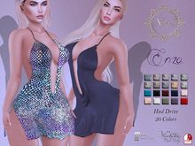 AdoreZ-Enza Dress Hud Colors