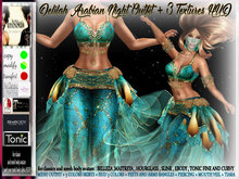 irrISIStible : DELILAH ARABIAN NIGHT OUTFIT +3 TEXTURES HUD