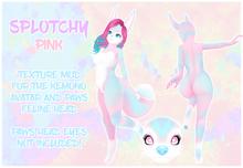 ~CRDM~ Splotchy - Pink - Kemono + PAWS Feline Texture Mod