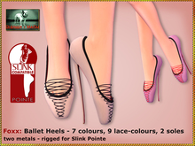 Bliensen + MaiTai - Foxx - Ballet Heels - 7 colours