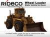 RiDECO - Wheel Loader