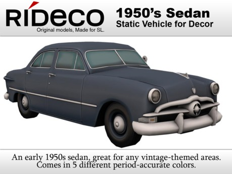 RiDECO - 1950's Sedan
