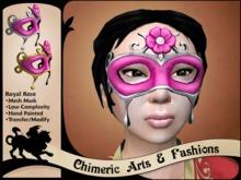 Royal Rose Mask - Pink