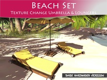 Moco Emporium ~ Lava Beach Umbrella & Lounge Set v1