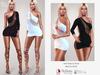 Bens Boutique - Mari Dress & Shoes (BLACK&WHITE)