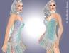 FaiRodis Holografic mesh dress Shining Galaxy_6 +2 GIFTS