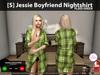[S] Jessie Boyfriend Nightshirt Plaid Green