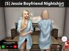 [S] Jessie Boyfriend Nightshirt Blue