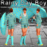 RRW ~ Rainy Day Boy ~ Cuter When Wet!