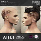 AITUI TATTOO - Hairbase 2.0 - Eye of the Cyborg