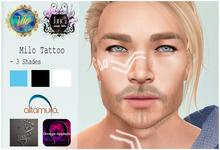 .Viki. & Juna AT - Milo Face Tattoo