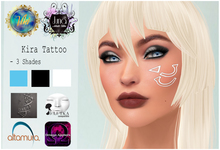 .Viki. & Juna AT - Kira Face Tattoo (Wear to Unpack)