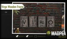MadPea Virgo Wooden Frame