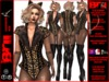 **LAJUANA BURLESQUE STYLE COMPLET OUTFIT **