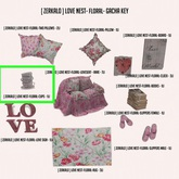 [ zerkalo ] Love Nest-Floral-Cups