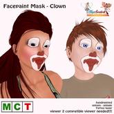*~*HopScotch*~* Facepaint - Clown