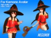 [Project Cosplay] Megumin Outfit for Kemono