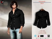 A&D Clothing - Shirt -Armand- Ebony