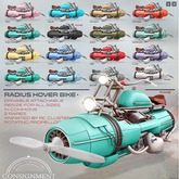 [Con.] Radius Hover Bike - Golden