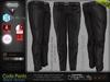 Code Black Male Mens Formal Pants - Mesh - TMP, Adam, Slink, Signature, AESTHETIC, Belleza Jake - FashionNatic