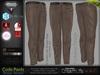 Code Light Brown Male Mens Formal Pants - Mesh - TMP, Adam, Slink, Signature, AESTHETIC, Belleza Jake - FashionNatic