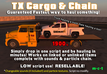 TX Cargo and Chain - Guaranteed Fastest way to haul something!