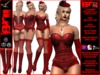 **LATANIA BURLESQUE STYLE COMPLET OUTFIT **