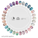 "alaskametro<3 ""Beachcomb"" nail art appliers | Appliers: Slink/Omega/Maitreya"