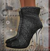 gray high heel stiletto