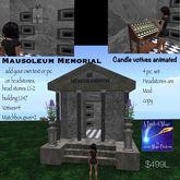 complete Mausoleum Memmorial Crate