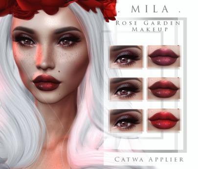 Mila Rose Garden Makeup Catwa