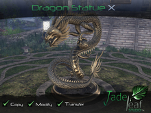 Jade Leaf Studio - Dragon Statue X (10)