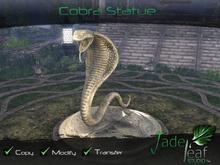 コブラの彫刻