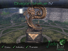 Dragon Statue IV - Full Permissions