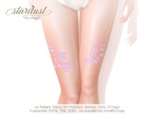 Stardust - Le - Pastels Tattoo (WEAR ME)