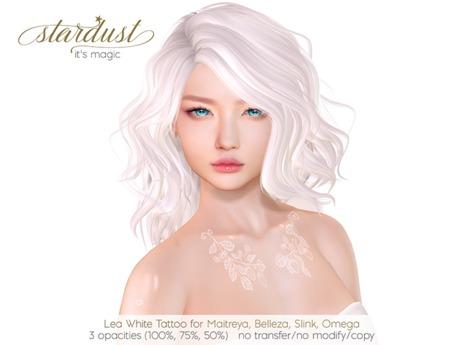 Stardust - Lea - White Tattoo (WEAR ME)