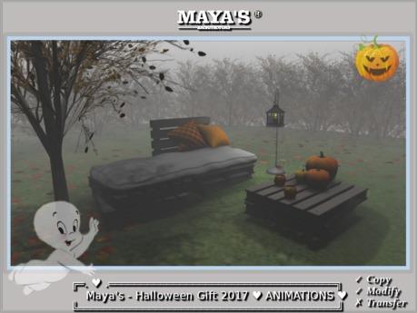 Maya's - Halloween ~ [Animations]~