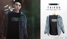 taikou / street denim jacket (LIGHT)