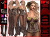 **LASHANA BURLESQUE STYLE COMPLET OUTFIT **