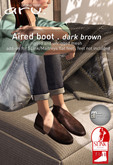 aru. Aired boot *Dk Brown*