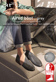 aru. Aired boot *Grey*