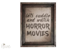 hive // watch horror movies sign [wear to unpack]