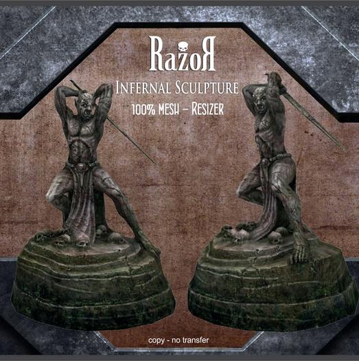 Razor - Infernal Sculpture - box
