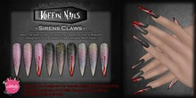 DP - Koffin Nails - Astralia Stiletto - Sirens Claws (Boxed)