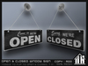 Open closed window sign