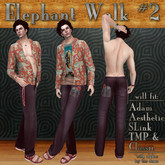 RR ~ Elephant Walk #2 ~ Kick-Around Casuals