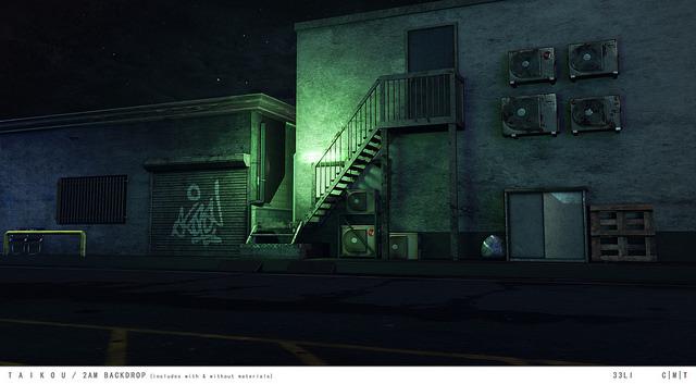 taikou / 2AM backdrop
